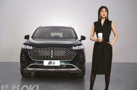 和姚安娜同框 WEY全新旗舰摩卡亮相 首搭车规级5G+V2X