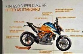 KTM 1290 SuperDuke RR被实锤