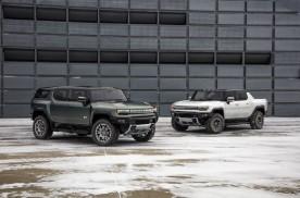 GMC HUMMER纯电SUV发布,通用再添硬派电动悍将