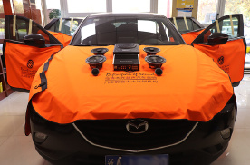 乌鲁木齐马自达CX-4汽车音响升级丹拿两分频主动音响系统