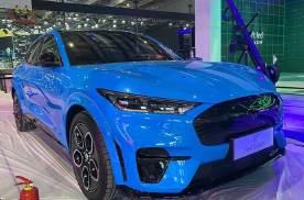 上海车展探馆:长安福特Mustang Mach-E GT版