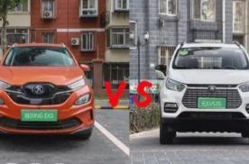 威马EX5对比BEIJING-EX3、比亚迪元EV如何选?