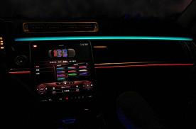 21款2021款奔驰S400L S450L主动式氛围灯效果