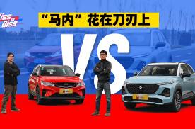 马内花在刀刃上,新宝骏RS-3和吉利缤越PRO,谁是更优选?