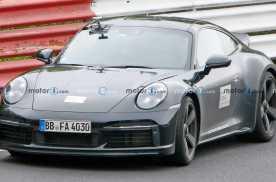保时捷911 Sport Classic最新谍照