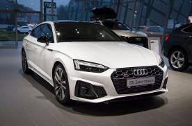 靠颜值力压同级对手,新款奥迪S5实车,6缸动力配全时四驱