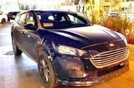 福特全新车型谍照曝光 新车预计将于明年年底发布