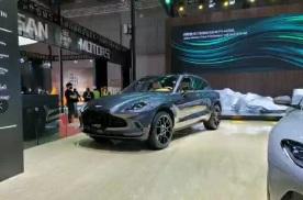2021上海车展:阿斯顿·马丁DBX特别版正式发布