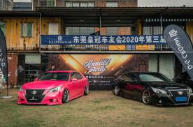 东莞170辆丰田皇冠年底聚会,这样的玩车氛围你羡慕吗?