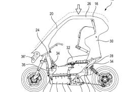 遮阳棚配备空气力学小翼 宝马新型电动摩托车黑科技