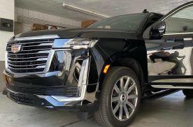 优雅硬朗的风格 全新凯迪拉克凯雷德实车