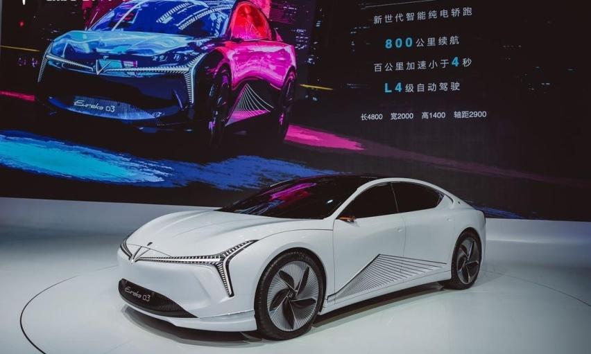 """哪吒""""三太子""""大闹北京车展,以智能安全演绎新实力,谁敢小瞧"""