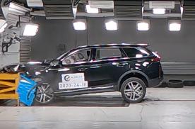 奔腾T99中汽研碰撞测试解析:车体结构设计出色,是款好车