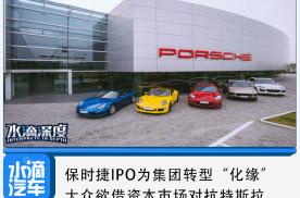 """保时捷IPO为集团转型""""化缘"""",大众欲借资本市场对抗特斯拉"""