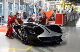 法拉利正式重启生产线,优先开始生产Monza SP1与SP2