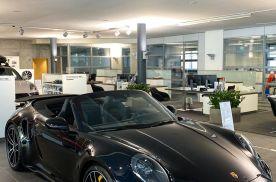 运动的风格 全新保时捷911 Turbo S敞篷版实车