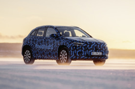 基于奔驰GLA演化,奔驰纯电SUV EQA将于1月20日发布