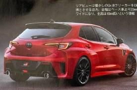 【新车资讯】#全新丰田GR卡罗拉实车图曝光#
