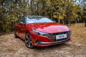 再降门槛,售价12.38万元,现代伊兰特1.4T新增车型上市