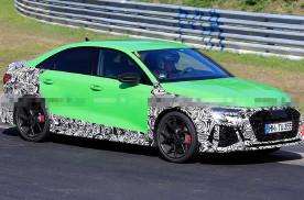 功率或超400马力 2021款奥迪RS3轿车测试谍照曝光