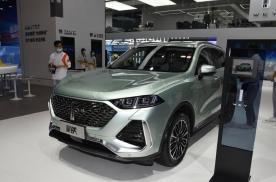 上海车展丨搭载1.5T DHT混动技术 WEY拿铁正式亮相