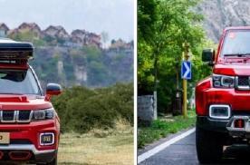 """硬派SUV""""小战狼""""北京越野BJ30将于4月16日正式上市"""