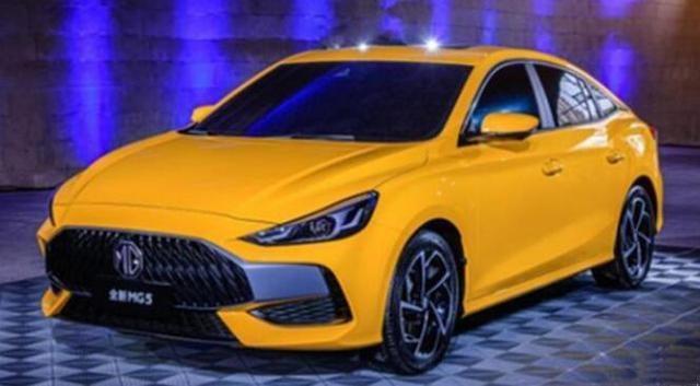 全新一代名爵5开启盲订 新车有望在11月8日上市
