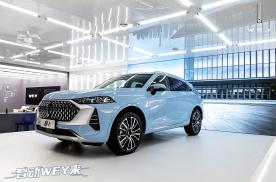 上海车展|17.98万元起 WEY品牌全新SUV摩卡开启预售