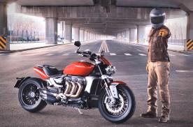 《宏義的摩托》凯旋火箭3:量产摩托车发动机最大