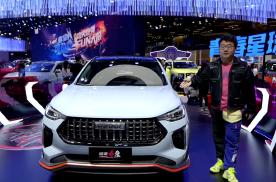 上海车展静态体验哈弗首款HEV车型,哈弗赤兔HEV版亮点多