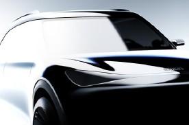 smart全新纯电动SUV草图曝光,吉利同框,明年正式量产