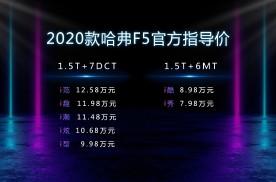 """2020款哈弗F5""""云出道"""""""