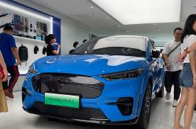 补贴后售28.2万元 Mustang Mach-E新增车型上市