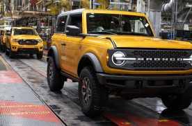 福特Bronco海外成爆款,全款订单超12.5万辆