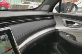 实拍:荣威RX5 MAX内饰设计,整体流线造型,清澈整洁