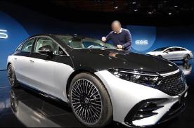 全新奔驰EQS实拍图曝光 将亮相于4月份上海车展