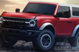 2021款福特Bronco两门/四门渲染图曝光 预计明年正式