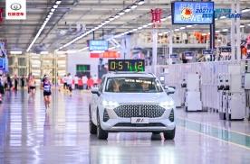 科技当道,潮玩HIGH翻,2021长城汽车智慧工厂马拉松完美