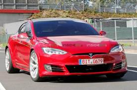 Model S P100D+Plaid车型 纽北创最速纪录