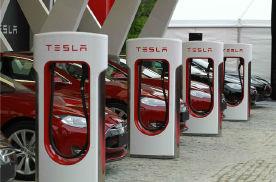 增量是过去五年总和1.6倍!特斯拉年内将新增4000台充电桩