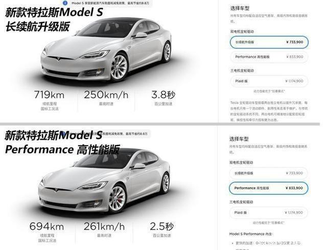 续航提升 价格不变 新款Model S/Model X上市