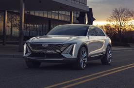 发光车标曲面大屏,凯迪拉克首款纯电SUV亮相,颜值不输新势力