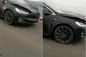 台州特斯拉Model X连撞两名交警 又现刹车失灵?