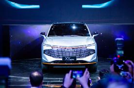 2021上海车展:哈弗HAVAL XY概念车正式发布