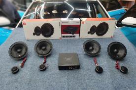 吉利缤瑞汽车音响改装哈曼JBL方案,车主:品位不同的生活风味