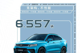 吉利汽车7月销量105218辆,帝豪家族卖出25084辆