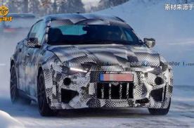 法拉利SUV冬季测试谍照 有望搭载插混系统 最快明年发布