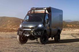 依维柯四驱探险房车,厢体可回收碳纤维,还是干湿分离卫生间
