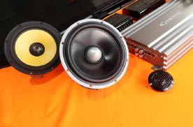 乌市慧声汽车音响改装别克GL8,黄金声学GT加GS两分频