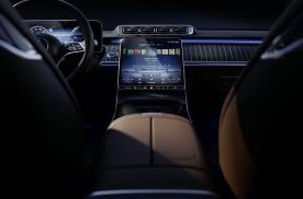 全新一代奔驰S级内饰曝光,取消了双连屏设计